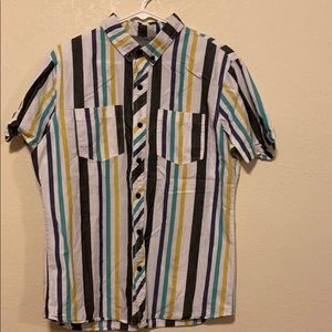 Kane and unke large button up